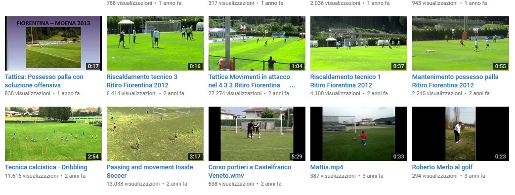 youtube allenatoredicalcio.it